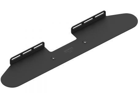 Sonos Black Wall Mount For Beam Soundbar (Each) - BM1WMWW1BLK