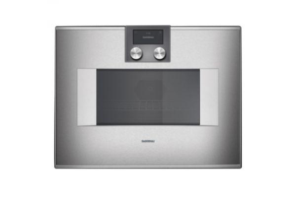"""Gaggenau 24"""" Stainless Steel 400 Series Speed Microwave Oven  - BM450710"""