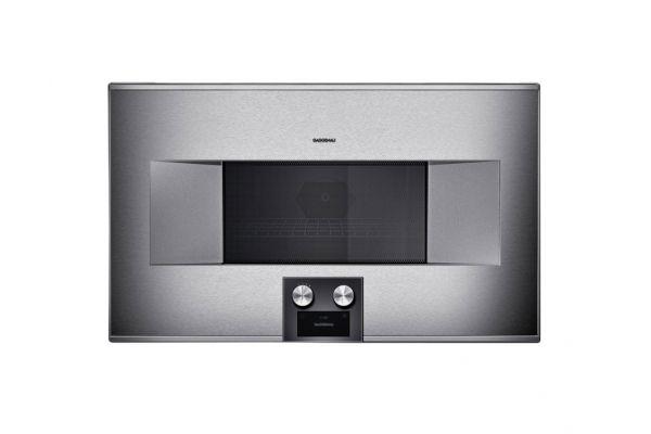 """Gaggenau 30"""" Stainless Steel 400 Series Speed Microwave Oven  - BM484710"""