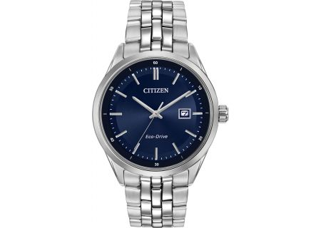 Citizen Eco-Drive Stainless Steel 41mm Mens Watch  - BM7251-53L