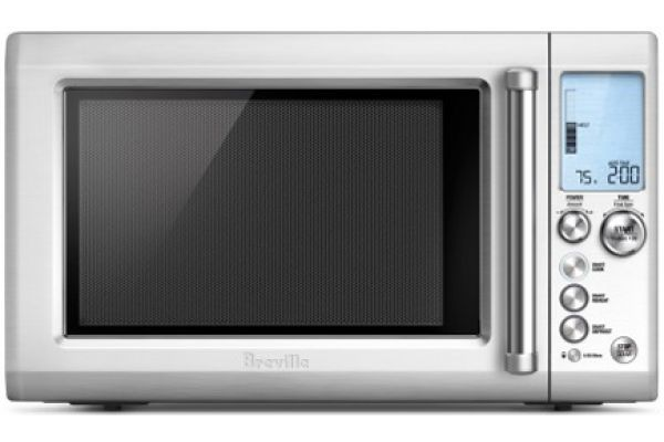 Breville 1.2 Cu Ft Quick Touch Stainless Steel Countertop Microwave - BMO734XL