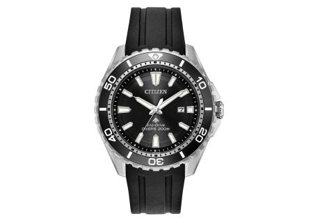Citizen Eco-Drive Promaster Diver Stainless Steel And Black Mens Watch  - BN0190-07E