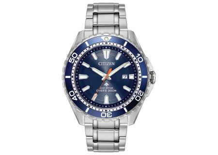 Citizen Eco-Drive Promaster Diver Stainless Steel And Blue Mens Watch  - BN0191-55L