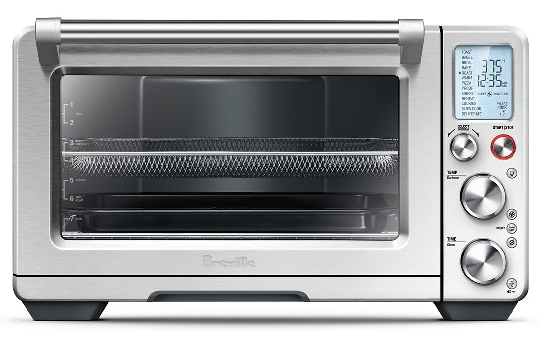 Breville Countertop Convection Oven Accessories : Breville The Smart Oven Air Toaster Oven - BOV900BSS