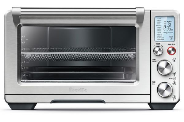 Large image of Breville The Smart Oven Air Toaster Oven - BOV900BSS
