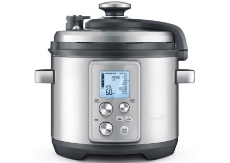 Breville 6 Quart Fast Slow Pro Pressure Cooker and Slow Cooker - BPR700BSS