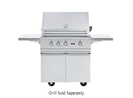 Viking 36 ultra premium gas grill cart bqc5361ss for Viking outdoor grill