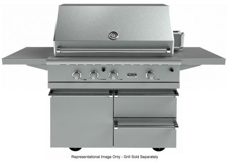 Viking Outdoor - BQC5420SS - Grill Carts & Drawers