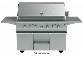 Viking Outdoor - BQC5540S - Grill Carts And Drawers