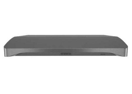 """Broan Alta 36"""" 300 CFM Black Stainless Steel Range Hood  - BQDD136BLS"""