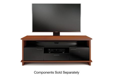 BDI Braden 8828 Natural Cherry TV Cabinet - BRADEN8828CH