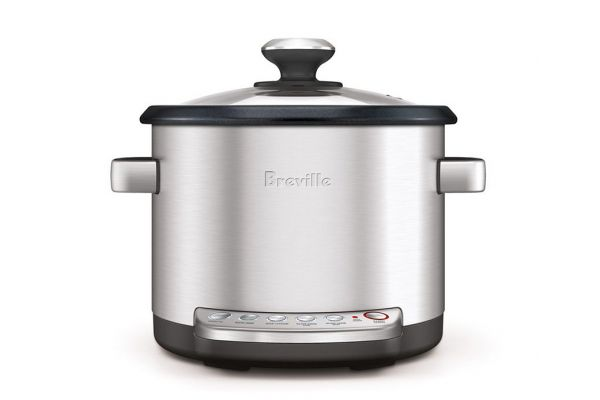 Breville Risotto Plus Stainless Steel Slow Cooker And Steamer - BRC600XL