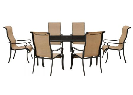 Hanover - BRIGDN7PC-GLS - Patio Dining Sets