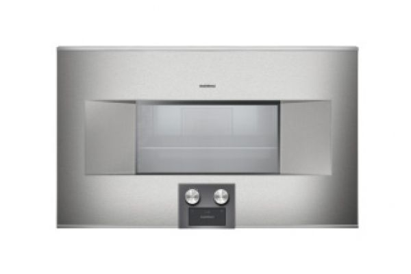 "Large image of Gaggenau 30"" Left Hinge Electric Combination Steam Oven - BS465610"