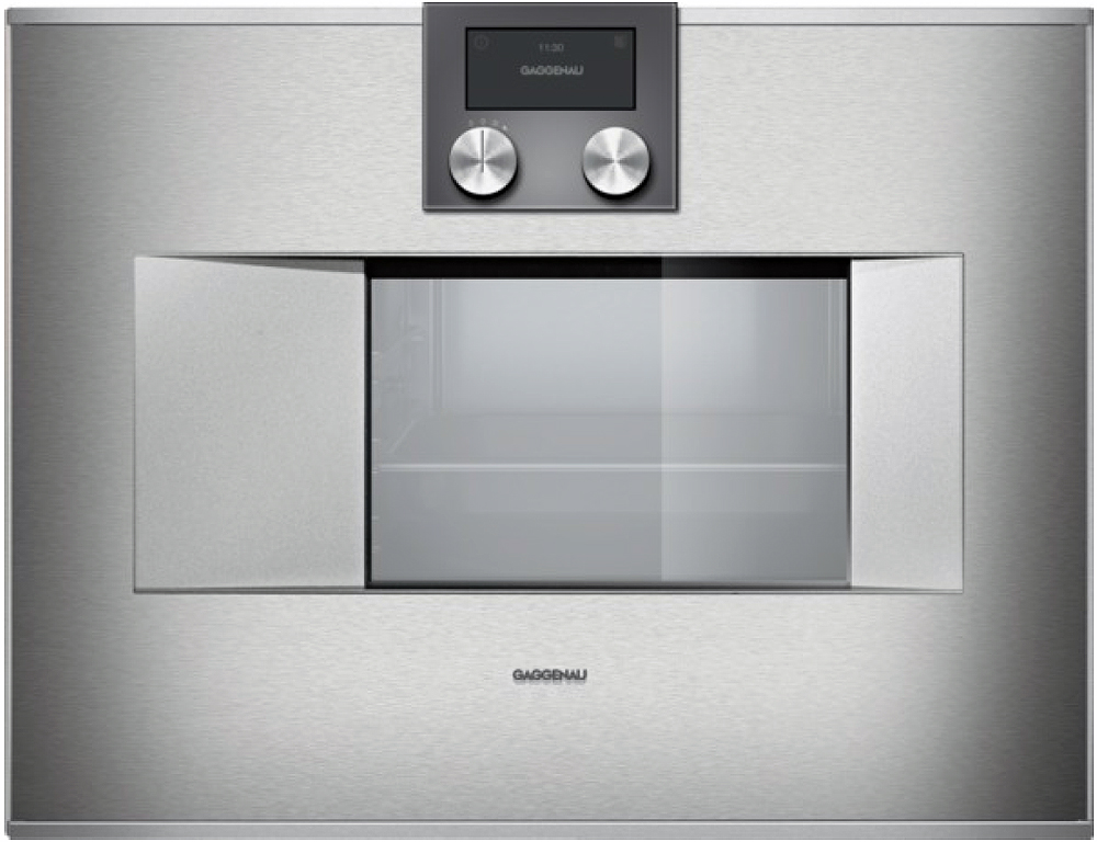 Gaggenau 24 Quot Stainless Steel Combi Steam Oven Bs470611