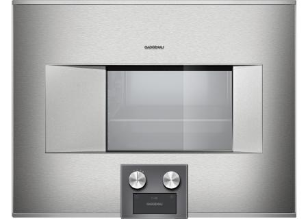 "Gaggenau 24"" Stainless Steel 400 Series Combi-Steam Oven  - BS474611"