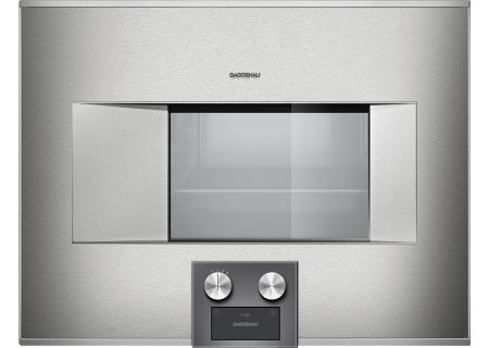 "Gaggenau 24"" Stainless Steel 400 Series Combi-Steam Oven  - BS475611"