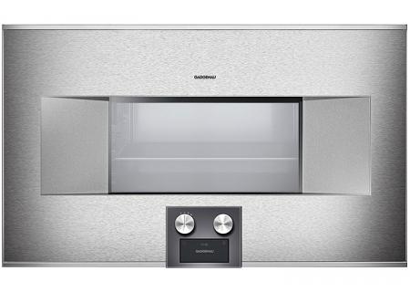 "Gaggenau 30"" Stainless Steel 400 Series Combi-Steam Oven - BS485611"