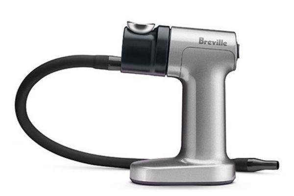Large image of Breville Silver The Smoking Gun Smoke Infuser - BSM600SILUSC
