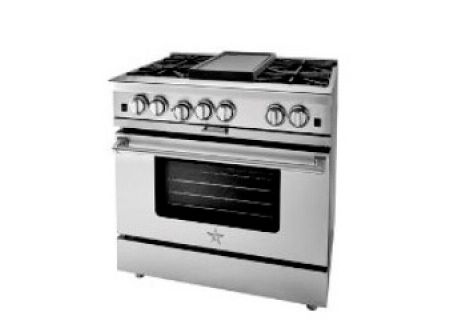 "BlueStar 36"" Platinum Series Stainless Steel Freestanding Gas Range  - BSP366B"