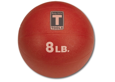 Body-Solid 8 lb Red Medicine Ball - BSTMB8