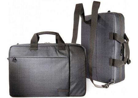 Tucano Svolta Combo Black Convertible Bag And Backpack - BSVO15DZ