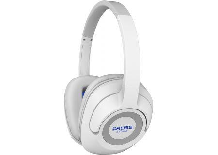 Koss BT539i White Over-Ear Wireless Headphones - 191809