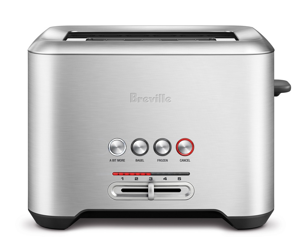 Breville Bit More Stainless 2 Slice Toaster BTA720XL