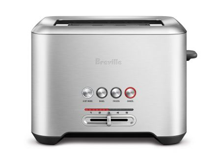 Breville Bit More Stainless Steel 2-Slice Toaster - BTA720XL