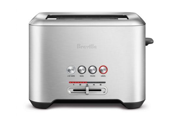Breville Bit More Stainless Steel 2-Slice Toaster - BTA720XL