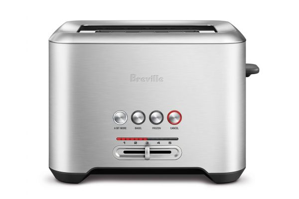 Large image of Breville Bit More Stainless Steel 2-Slice Toaster - BTA720XL