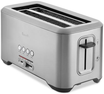 Breville Bit More Long Slot 4 Slice Toaster BTA730XL