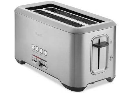 Breville Bit More Stainless Steel Long Slot 4-Slice Toaster - BTA730XL