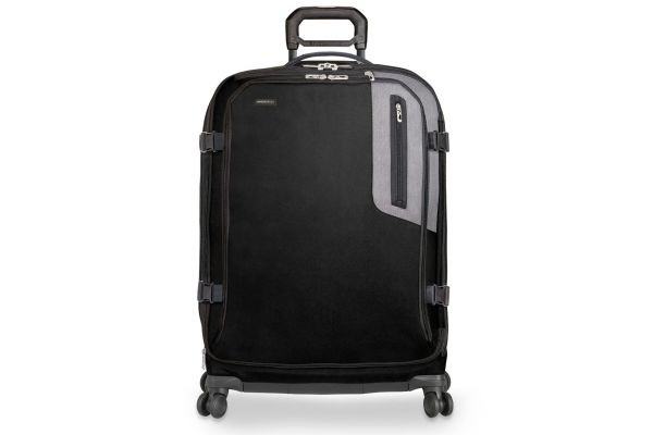 Briggs & Riley Black Explore Large Expandable Spinner  - BU229SPX-4