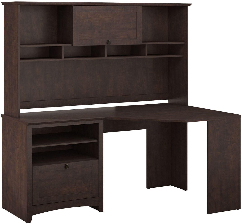 Bush Furniture Buena Vista Madison Desk Hutch Buv008msc