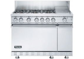 Viking - BVGRC848-6G-S - Free Standing Gas Ranges & Stoves