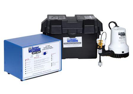Basement Watchdog Big Dog Battery Operated Backup Sump Pump - BWD12-120C