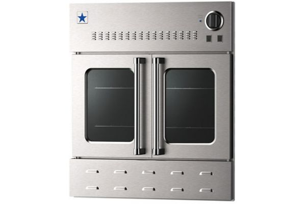 """Large image of BlueStar 30"""" Stainless Steel Convection Gas Wall Oven - BWO30AGS"""