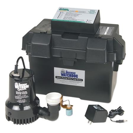 basement watchdog backup battery operated sump bwsp