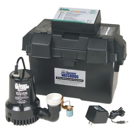basement watchdog backup battery operated sump pump bwsp