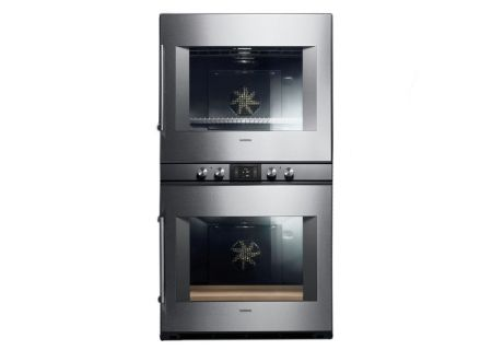 """Gaggenau 30"""" 400 Series Stainless Steel Double Oven  - BX480611"""