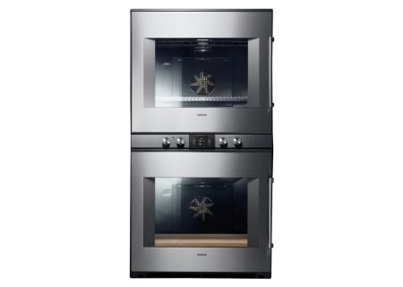 "Gaggenau 30"" 400 Series Stainless Steel Double Oven  - BX481611"