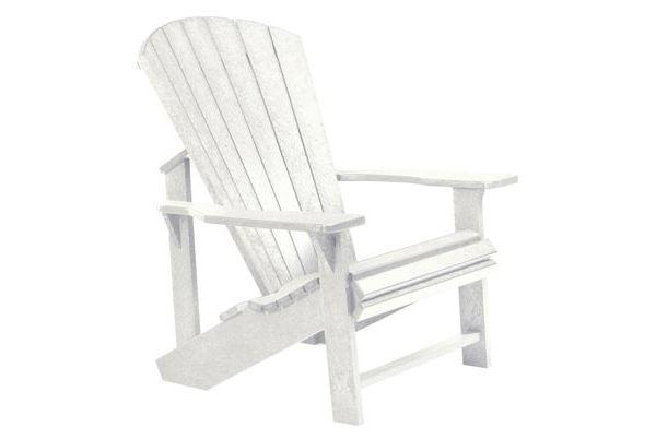 Terrific C R Plastic Products C01 White Classic Adirondack Chair Spiritservingveterans Wood Chair Design Ideas Spiritservingveteransorg