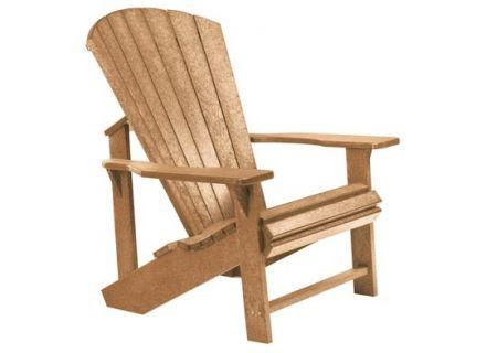 C.R. Plastic Products C01 Cedar Classic Adirondack Chair - C01-08