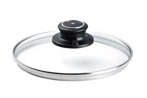 """Large image of Swiss Diamond 7"""" Tempered Glass Lid - C18SD"""