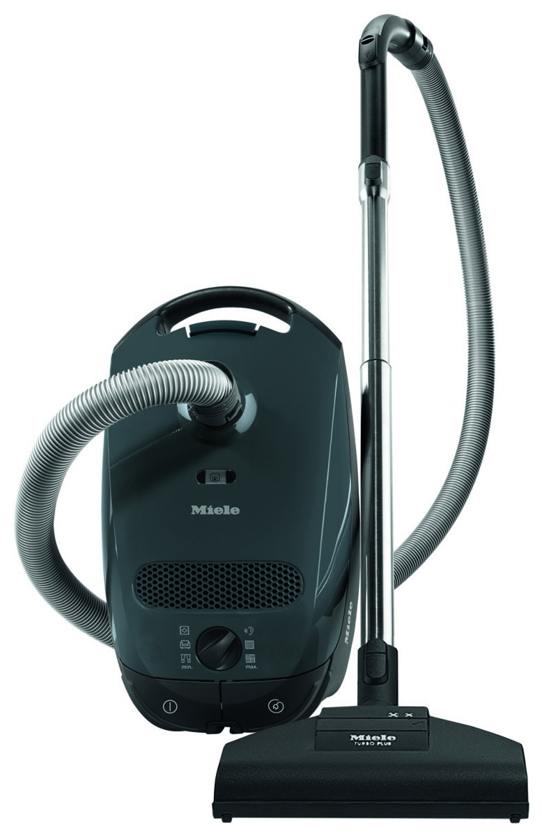 miele classic c1 capri grey canister vacuum 41ban031usa. Black Bedroom Furniture Sets. Home Design Ideas