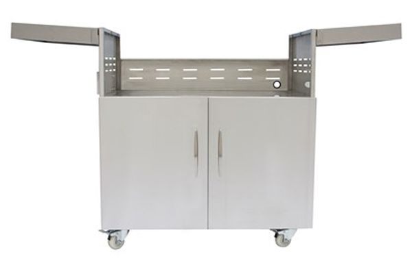 """Large image of Coyote 36"""" Charcoal Grill Cart - C1CH36CT"""