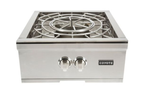 Large image of Coyote Stainless Steel Natural Gas Power Burner - C1PBNG