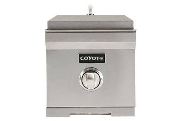 Large image of Coyote Stainless Steel Liquid Propane Gas Single Side Burner - C1SBLP