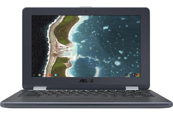 Asus Chromebook Flip C213 Dark Gray Laptop Computer - C213SA-YS02